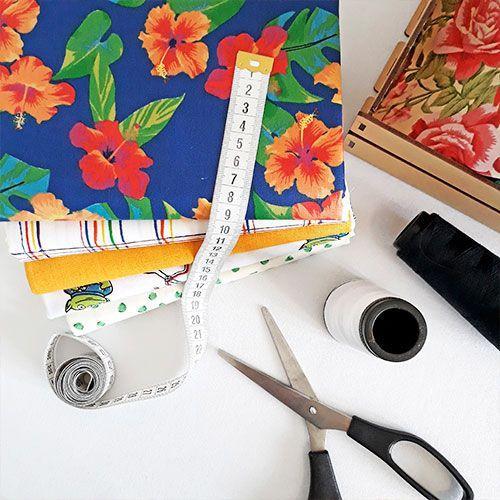 Distribuidor de tecido para artesanato