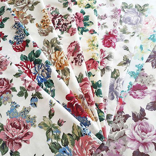 Tecido estampado floral